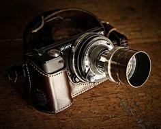 *ooh*  365 Day 291: Camera Porn: Sony NEX-5 with an Industar-22 3,5/50 Lens