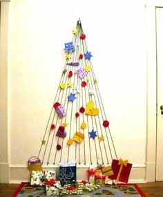 DIY Christmas tree / Árbol de Navidad DIY
