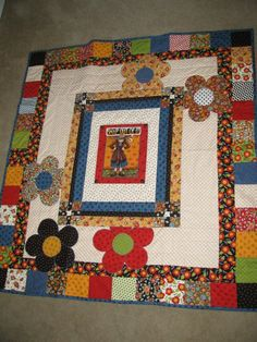 Mary Engelbreit Quilt my mom made - will place on rocking chair