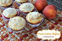 peach freezer, fresh peach, freezer peaches, bread, peach cobbler muffins
