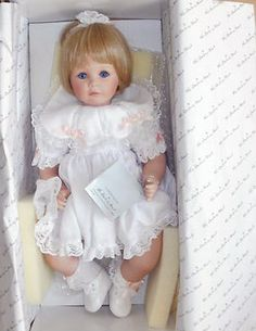 "Susan Wakeen & The Danbury Mint   ""Little One"" Porcelain Doll."