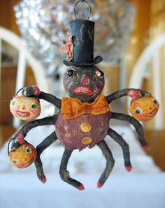 Halloween spider trick or treat