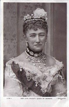 Queen Luise of Denmark, mother of Queen Alexandra and Empress Marie Feodorovna.