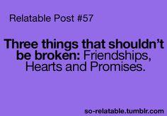 don't break them...