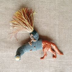 odd creature #1 New collection of art jewellery brooches  (one of a kind)