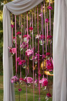 Beautiful backdrop idea
