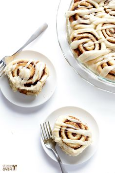 Brown Butter Cinnamon Rolls -- unbelieavbly delicious, and ready to go ...
