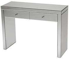 reflection-console-table - as a dressing table?