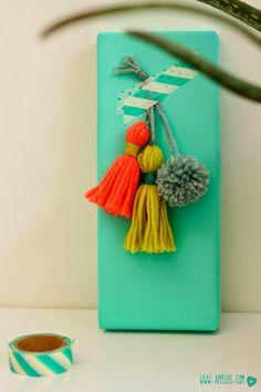 Villa Appelzee DIY bunting with tassels