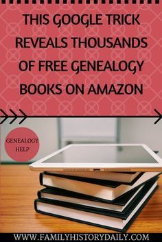 Free Genealogy tips.
