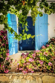 Zakynthos zakyntho island, blue window, beauti place, shutter, greece, door, windows, window greek, zakyntho greec
