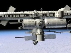 Dragon Docks with the ISS