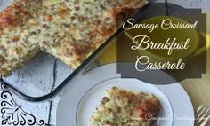 Easy Sausage Croissa