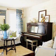 Upright Piano Decor On Pinterest
