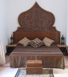 moroccan furniture headboard