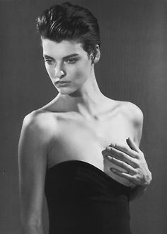 Linda Evangelista (Photography by Bruce Weber) | 1989