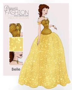 Get a Glimpse of These High Fashion Disney Princesses http://higsousa.deviantart.com/gallery/