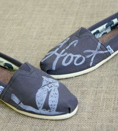 Cute Owl Toms Shoes.