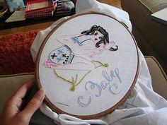 progress this afternoon by floresita, via Flickr progress, flickr, pattern, pin, afternoon, floresita, embroideri