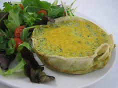 Cara Mia: Gluten-Free Artichoke Broccoli Quiche!