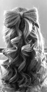I think this would be so cute to do on a little girl