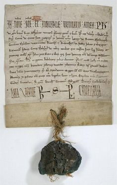Simont de Montfort's homage to the King of France for the Southern provinces, ca.  (1216)