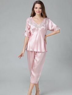 Silk Pajamas Set