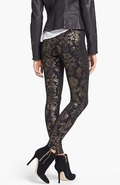 Love these embellished leggings!