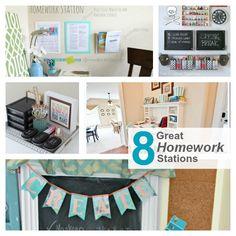 8 Great Homework Stations