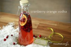 Cranberry orange vod