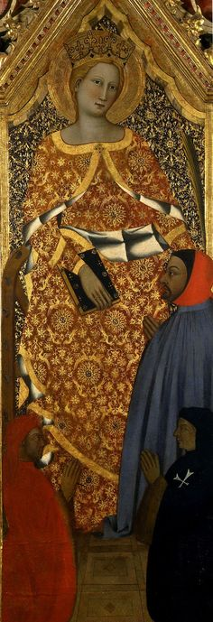 St.Catherine of Alexandria  c. 14th century by Andrea di Bonaiuto