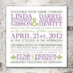 Custom Wedding Invitation Digital Design from www.stewartdesignstudios.etsy.com