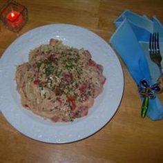 Slow Cooker Spaghetti Chicken  #