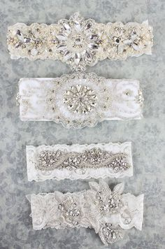 Crystal and pearl beaded embroidered lace adorned on French Ivory imported lace.