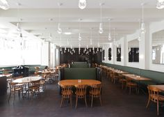restaur, interior, herzog, de meuron, brasseri, volkshaus basel, meuron volkhaus, design, basel bar