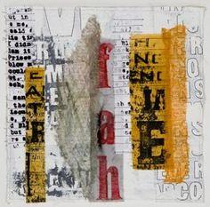 Jette Clover Fiber art and mixed media