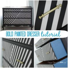 Learn How to Paint a Dresser for a BOLD Statement by Ace Blogger @designertrapped