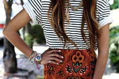 stripes + prints