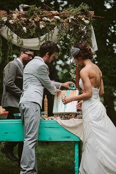 photo Creative Alternatives to the Unity Candle Wedding Ceremony