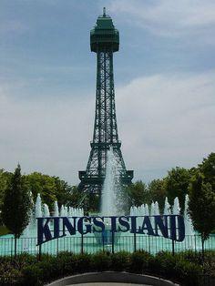 King's Island near Cincinnati, Ohio