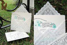 lace envelop, paper, doilies, butterfli pattern, doili envelop