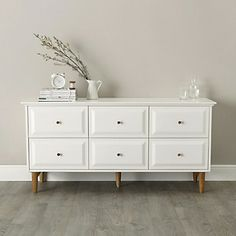 Devon 6-Drawer Chest Of Drawers   The White Company