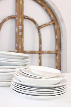 <3 white dishes