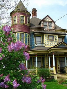 Victorian house in Cleveland, Ohio, USA