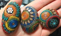 Balinese Filigree technique applied to polymer clay, by Jael Thorp