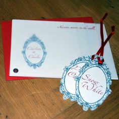 snow white invites