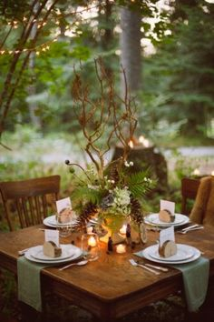 Dinner in the Forest.  #athomewithSA