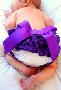 purple baby butt