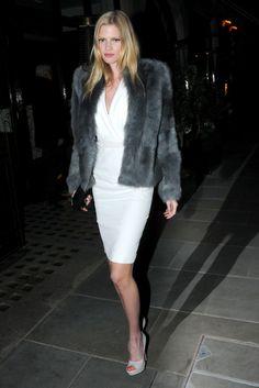gray & white- chic style crush, lara stone, street styles, fur, travel style, stones, fashion designers