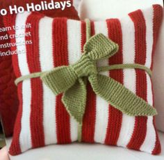 Christmas Present Pillow!